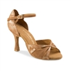 Rummos R385 Tan Curazo Leather & Lt Brown Nubuck Shoe | Blue Moon Ballroom Dance Supply
