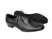 Style S301 Black Leather - Women's Dance Shoes | Blue Moon Ballroom Dance Supply