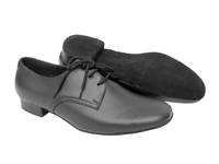 Style S304 Black Leather - Women's Dance Shoes | Blue Moon Ballroom Dance Supply