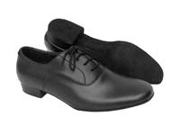 Style S305 Black Leather - Women's Dance Shoes | Blue Moon Ballroom Dance Supply