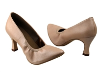 Style S9107 Light Tan Light Leather - Dancewear on Sale | Blue Moon Ballroom Dance Supply