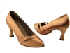 Style S9171 Tan Satin - Ladies Dance Shoes | Blue Moon Ballroom Dance Supply