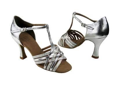 Style S92304 Silver Scale & Silver - Ladies Dance Shoes | Blue Moon Ballroom Dance Supply