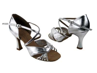 Style S92305 Silver Scale & Silver - Ladies Dance Shoes | Blue Moon Ballroom Dance Supply