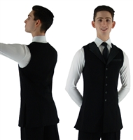 Style William Full Length Mens Dance Vest