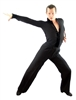 Style Victor Mens Black Latin Dance Shirt - Men's Dancewear | Blue Moon Ballroom Dance Supply