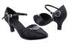 Style SERA1397 Black Satin - Ladies Dance Shoes | Blue Moon Ballroom Dance Supply