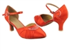 Style SERA1397 Red Satin - Ladies Dance Shoes | Blue Moon Ballroom Dance Supply