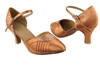 Style SERA1397 Tan Satin - Ladies Dance Shoes | Blue Moon Ballroom Dance Supply