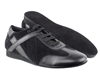 Style SERO106BBX Black Leather & Black Suede - Unisex Dance Shoes | Blue Moon Ballroom Dance Supply