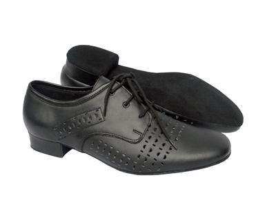 Style ST38 Black Leather - Women's Dance Shoes | Blue Moon Ballroom Dance Supply