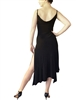 Style Matte Spandex Boatneck Tango Dress - Women's Dancewear | Blue Moon Ballroom Dance Supply