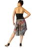 Style Cheetah Multi Print  Chiffon Circle Tango Skirt - Dancewear | Blue Moon Ballroom Dance Supply