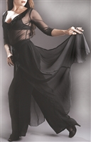 Style Flyaway Chiffon Pant - Dancewear | Blue Moon Ballroom Dance Supply