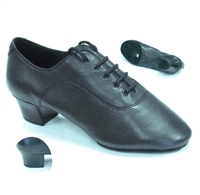 Style Tomas Black Leather Latin Shoe