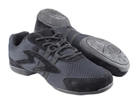 Style VFSN012 Low Profile Black Dance Sneaker - Unisex Dance Shoes | Blue Moon Ballroom Dance Supply