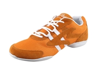 Style VFSN012 Low Profile Orange Dance Sneaker