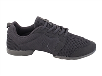 Style VFSN024 Black Mesh and Suede Dance Sneaker - Unisex Dance Shoes | Blue Moon Ballroom Dance Supply
