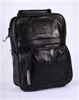 Style Black Leather Dance Bag