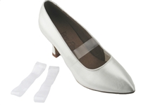 Clear Elastic Shoe Straps - Dance Accessories | Blue Moon Ballroom Dance Supply