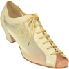 Style Comfort Classic Ladies Tan Leather & Mesh Practice | Blue Moon Ballroom Dance Supply