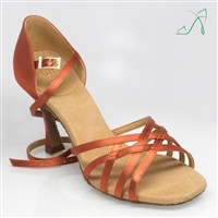 Style Ray Rose Kalahari Dark Tan Satin