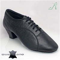Style Ray Rose Bryan Black Leather - Mens Latin Dance Shoes | Blue Moon Ballroom Dance Supply
