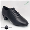 Style Ray Rose Thunder Black Leather - Mens Latin Dance Shoes | Blue Moon Ballroom Dance Supply