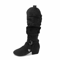 Style SD Candace Black Dance Boot - Dance Footwear | Blue Moon Ballroom Dance Supply