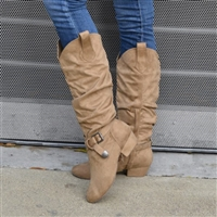 Style SD Candace Tan Dance Boot