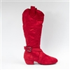 Style SD Prescott Red Dance Boot - Women's Dance Shoes | Blue Moon Ballroom Dance Supply