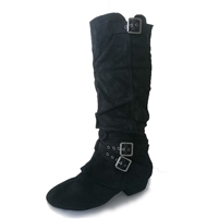 Style SD Signature Szekely Black Boot - Dancewear on Sale | Blue Moon Ballroom Dance Supply