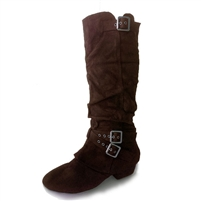 Style SD Signature Szekely Chocolate Boot