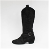 Style SD Tucson Black Country Dance Boot - Women's Dance Shoes | Blue Moon Ballroom Dance Supply