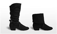 Style SD Urban Charm Black Dance Boot - Women's Dance Shoes | Blue Moon Ballroom Dance Supply