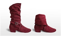 Style SD Urban Charm Burgandy Dance Boot - Women's Dance Shoes | Blue Moon Ballroom Dance Supply