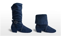 Style SD Urban Charm Navy Dance Boot - Women's Dance Shoes | Blue Moon Ballroom Dance Supply