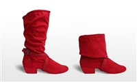 Style SD Urban Charm Red Dance Boot - Women's Dance Shoes | Blue Moon Ballroom Dance Supply