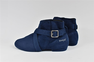 Style SD Urban Soul Navy Dance Boot - Women's Dance Shoes | Blue Moon Ballroom Dance Supply