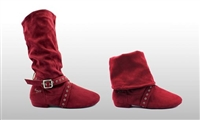 Style SD Urban Step Burgandy Dance Boot