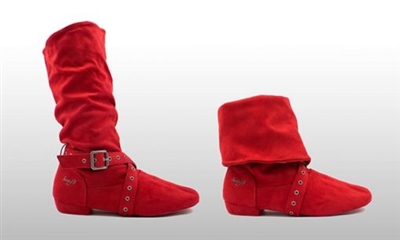 Style SD Urban Step Red Dance Boot - Women's Dance Shoes | Blue Moon Ballroom Dance Supply
