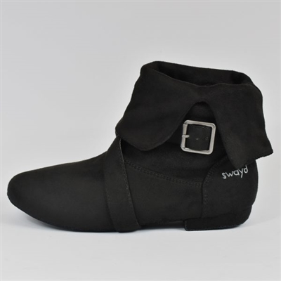 Style SD Urban Vibe Black Dance Boot - Women's Dance Shoes | Blue Moon Ballroom Dance Supply