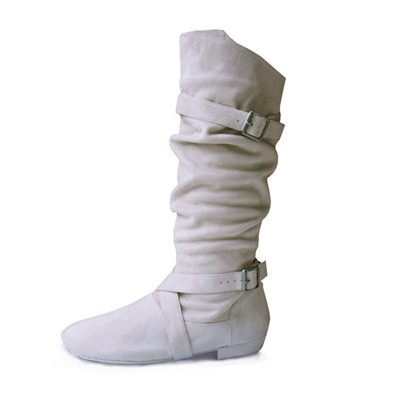 Style SD Urban Premiere Beige Dance Boot - Dance Footwear | Blue Moon Ballroom Dance Supply