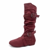 Style SD Urban Premiere Burgandy Dance Boot - Women's Dance Shoes | Blue Moon Ballroom Dance Supply