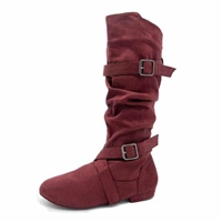 Style SD Urban Premiere Burgandy Dance Boot