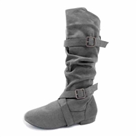 Style SD Urban Premiere Gray Dance Boot - Dance Footwear | Blue Moon Ballroom Dance Supply