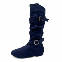 Style SD Urban Premiere Navy Dance Boot - Women's Dance Shoes | Blue Moon Ballroom Dance Supply