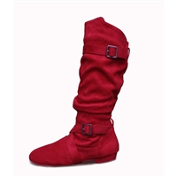 Style SD Urban Premiere Red Dance Boot - Women's Dance Shoes | Blue Moon Ballroom Dance Supply
