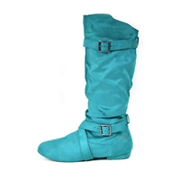Style SD Urban Premiere Turquoise Dance Boot - Women's Dance Shoes | Blue Moon Ballroom Dance Supply