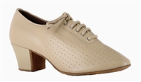 "Style SDS Tabit Beige Leather 1.7"" Practice Shoe"